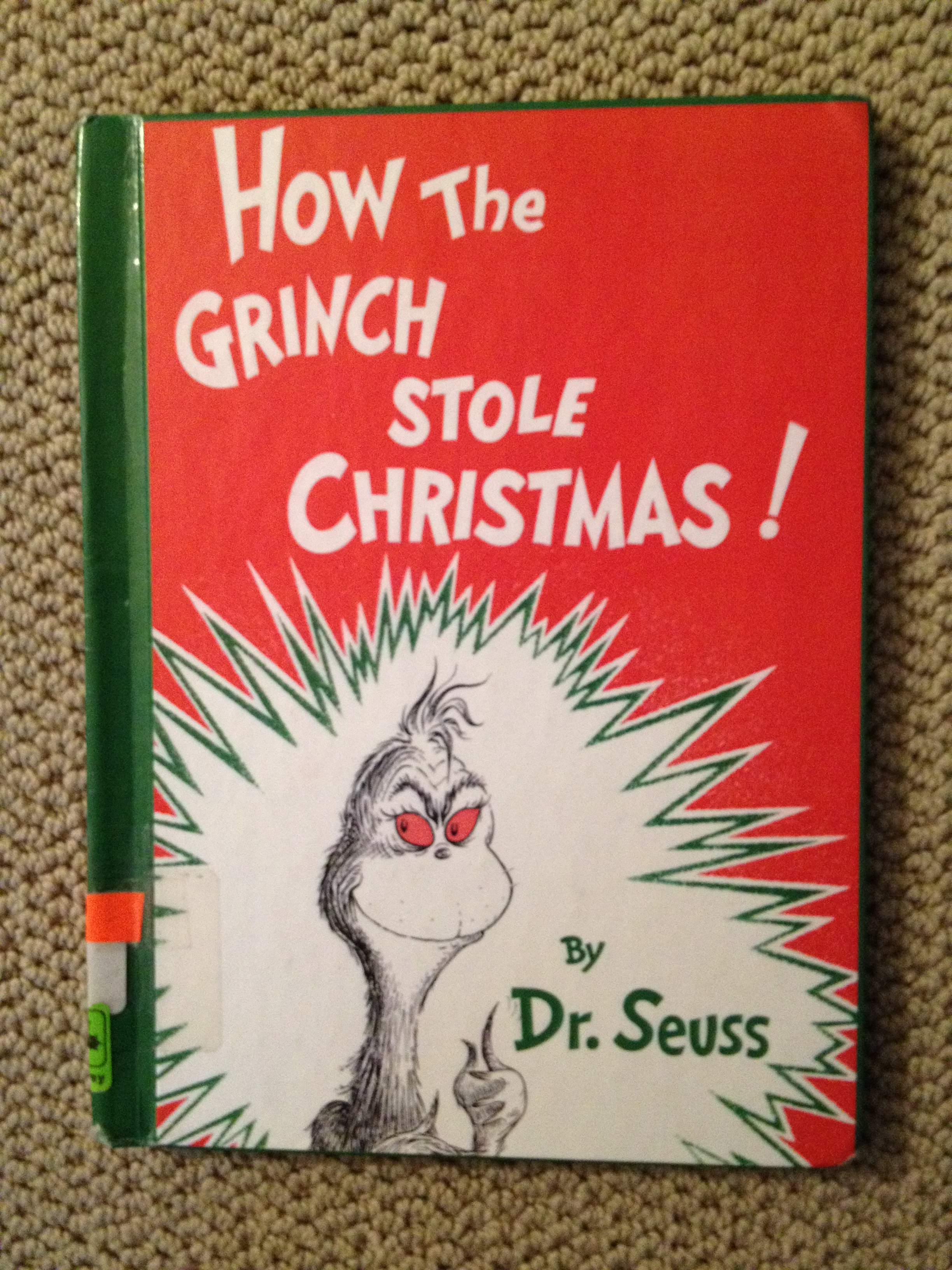 How The Grinch Stole Christmas Book Cover.How The Grinch Stole Christmas Corporate Style By All
