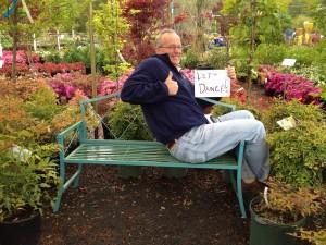 Dave Scott of Laurel Oak Garden Center in Marlton, NJ, in his natural habitat...