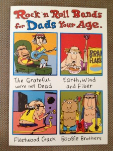 I couldn't find a Monty Python card, so this will have to do. Happy Father's Day!