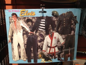When in doubt what to wear to a business Halloween party, you can't go wrong with Mix 'N' Match Elvis!