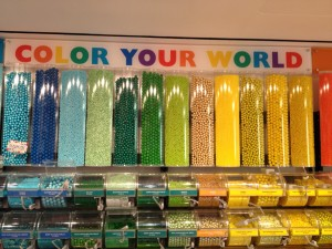 Your mood shifted for the better just by looking at this, didn't it? (Photo taken at: Dylan's Candy Bar, New York City)