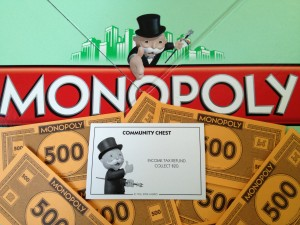 Imagine the IRS's response if you attempted to pay any owed back taxes with Monopoly money...