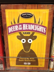 Don't be a deer caught in December's business-networking headlights--start a memorable conversation!