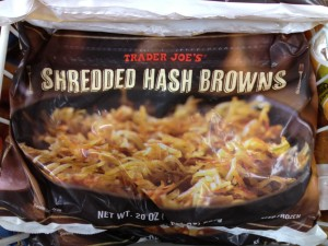 """I did think about putting a """"tag"""" sign over the word """"browns,"""" but I didn't want the nice people at Trader Joe's to evict me from the premises..."""