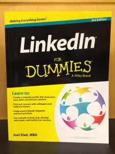 Apparently, using LinkedIn's actual logo on a self-help book's cover is frowned upon...